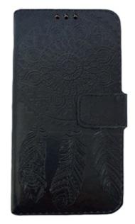 Capa Case Carteira  Iphone 7g Preto Cód 686