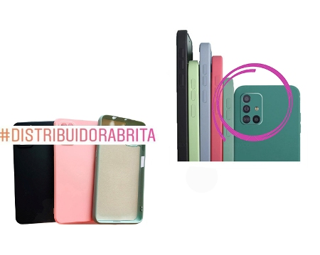 Capa Case Aveludada C/ Proteção na Câmera Iphone 11 Pro  Cód 1128