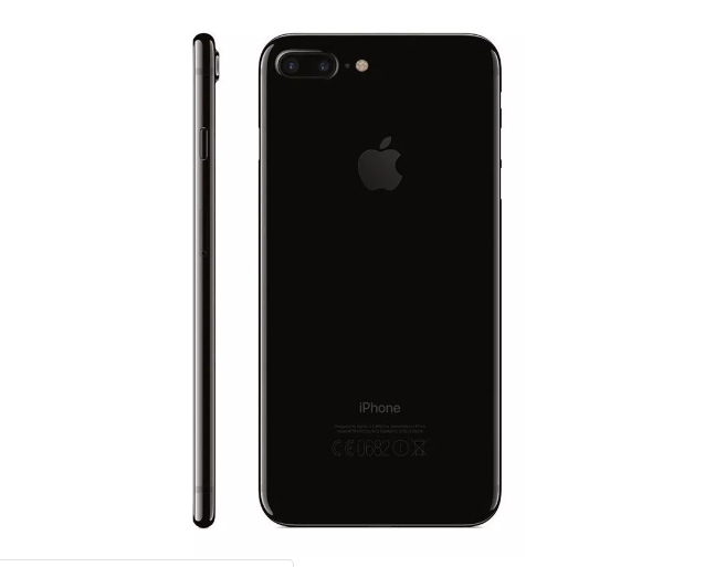 Carcaça Com Aro Chassi Mid Frame Com Flex Apple Iphone 7G Plus Preto