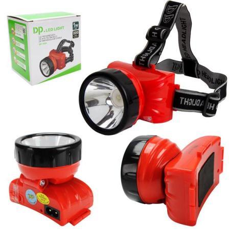 Lanterna Recarregável de Emergência P/ Cabeça 12 Led 800mAh DP-722B