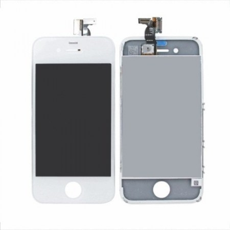 Display Lcd Tela Touch Frontal  Iphone 4 4G  Branco